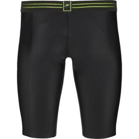 speedo Hydrosense Bonded Costume da gara jammer Uomo, black/green